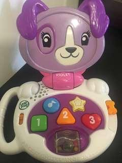 FREE POSTAGE! Leapfrog Violet Purple Baby Laptop
