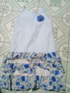 lizzie dress blue size 12