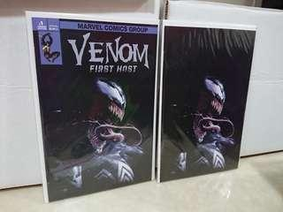 Venom First Host #1 Dell Otto Variant Set