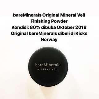 [FREE DELIVERY] bareMinerals Original Mineral Veil Finishing Powder