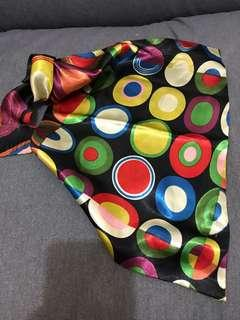 Scarf colorful