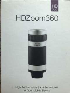 手提電話 HD Zoom 360鏡頭連腳架