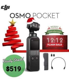DJI Osmo Pocket - Ready Stock! 12.12 Launch!