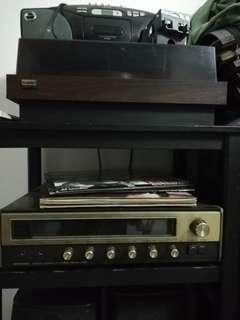 Onkyo Ld player and amplifier
