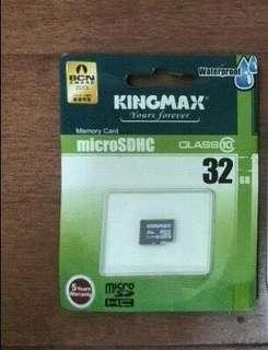 Kingmax 32GB Memory Card #MY1212