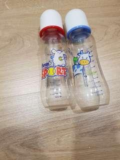 Milk bottle (2 for rm10)