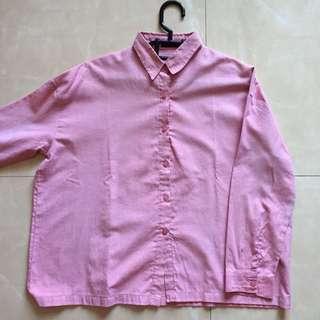 Pink A Line Shirt