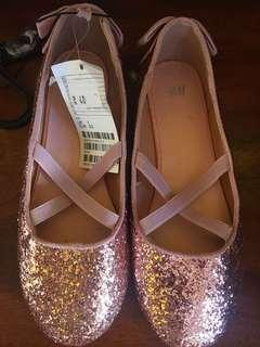 REPRICED H&M ballet shoes for girls