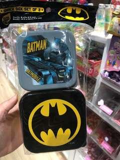 (包平郵)Batman 蝙蝠俠 毛巾盒 食物盒
