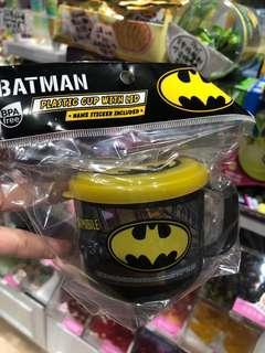 (包平郵)Batman 蝙蝠俠 有蓋膠水杯