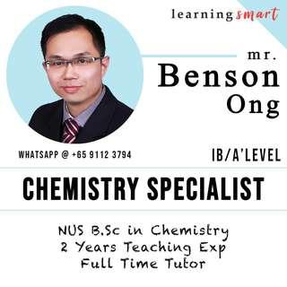 Chemistry A level  H2 IB home Tuition