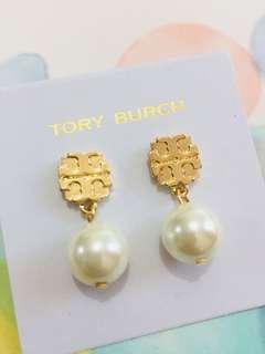 珍珠耳環💓Tory Burch Earrings