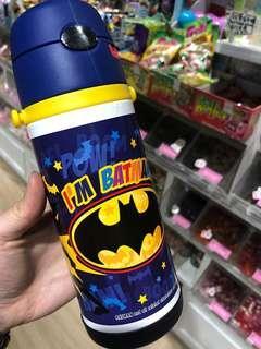 Batman 蝙蝠俠 飲管保溫壺 連帶