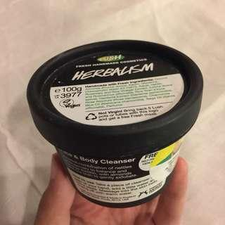 LUSH Herbalism face & body cleanser