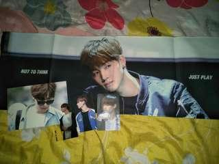 WTS CLEARANCE GOT7 JB / JAEBUM SLOGAN SET