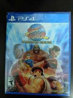 PS4 Street Fighter 30th Anniversary Collection (New)