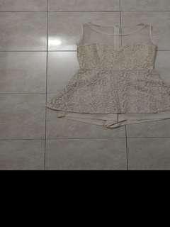 Korea lace jumpsuit