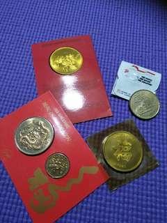 Sg old Coin  4set offer $18