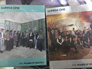 [ON HAND] Wanna One Power of Destiny album