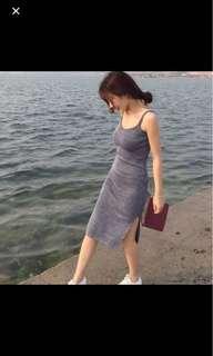 🚚 針織連身背心裙