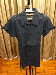 Denim Polo