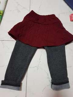 Autumn/ winter Skater Skirt (3-5 years old)