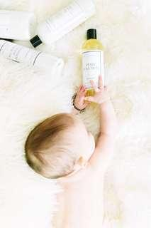 美國紐約The Laundress嬰兒柔軟精 附上收納包 收納袋