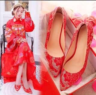 Wedding Kua Heels