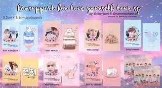 ✨ bts love yourself tour sg fansupport ♡