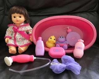 12inch baby doll (Bath time) series #MY1212