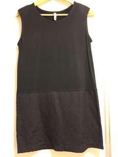 黑色背心裙 black dress one piece pattern
