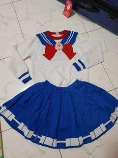 Sailor Moon Autumn/Winter Wear (3-5 years old)