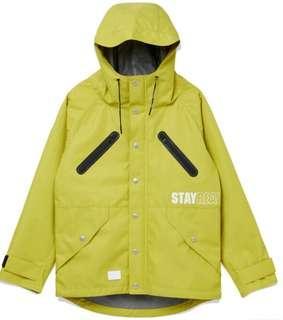 🚚 STAYREAL 城市機能外套(黃)黑標M