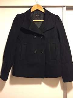 G2000 essential 80% wool jacket coat 孖襟大褸 80羊毛超暖 兩著 可企領