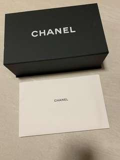 Chanel magnetic box + Booklet + Cloth
