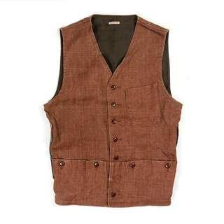 Kapital Hunting Vest / vintage nigel 復古 古著 日本製 beams 軍 牛仔