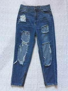 Forever21 Ripped Jeans