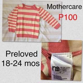 Sweatshirt for baby girl