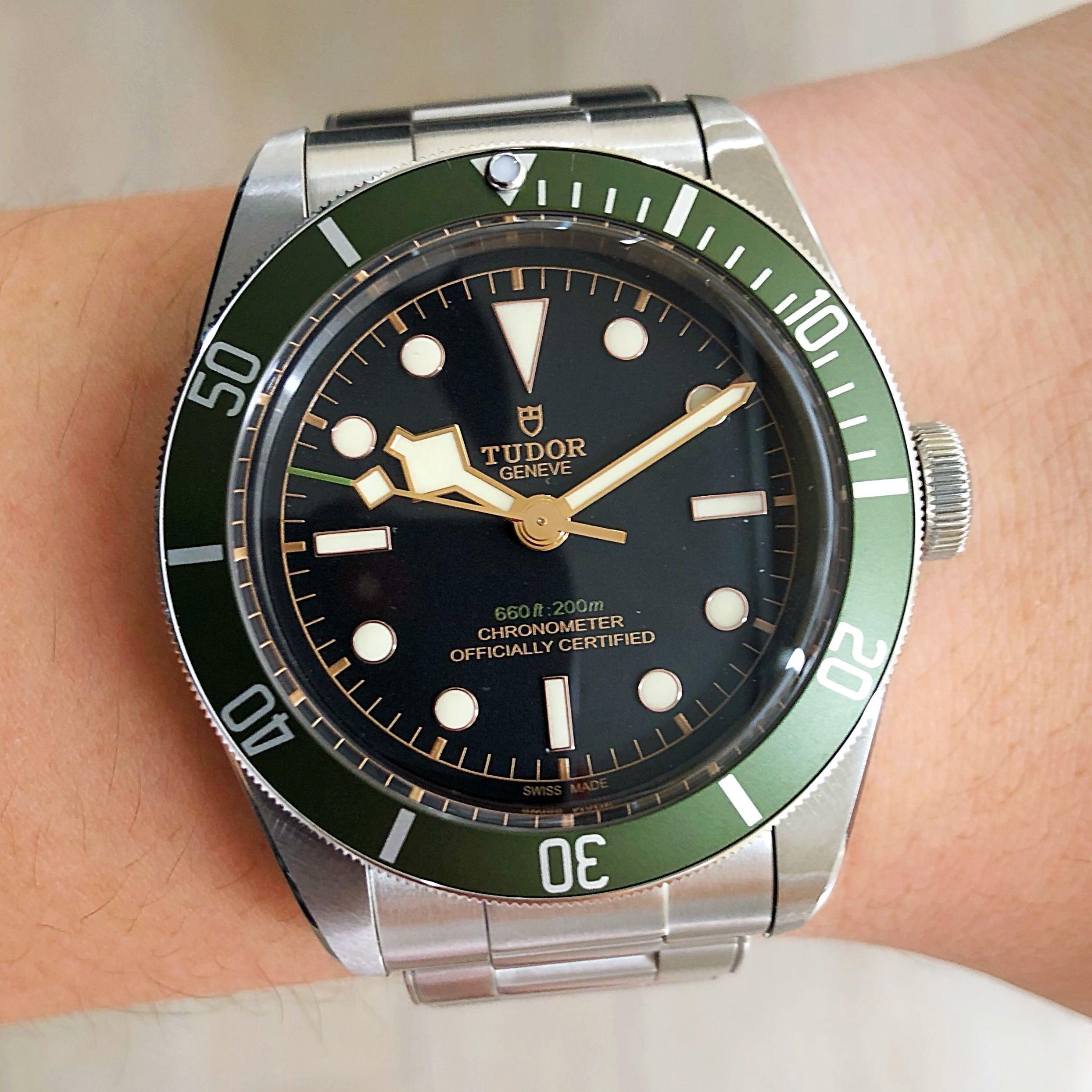 c8b015e4ad4 [ SOLD ] Tudor Black Bay Harrods, Luxury, Watches on Carousell