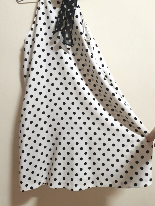 bd74067d 💕 ZARA polka dots ribbon dress, Women's Fashion, Clothes, Dresses & Skirts  on Carousell