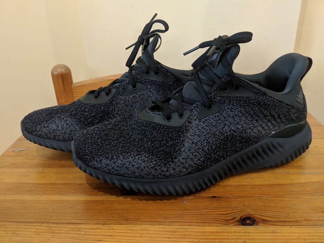 new arrival 83772 2afad Adidas Alphabounce EM - Size 9.5 (Core BlackNight MetallicCa