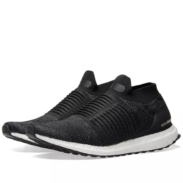 ff6f1201387d8 Brand New Adidas Ultra Boost Laceless W Core Black