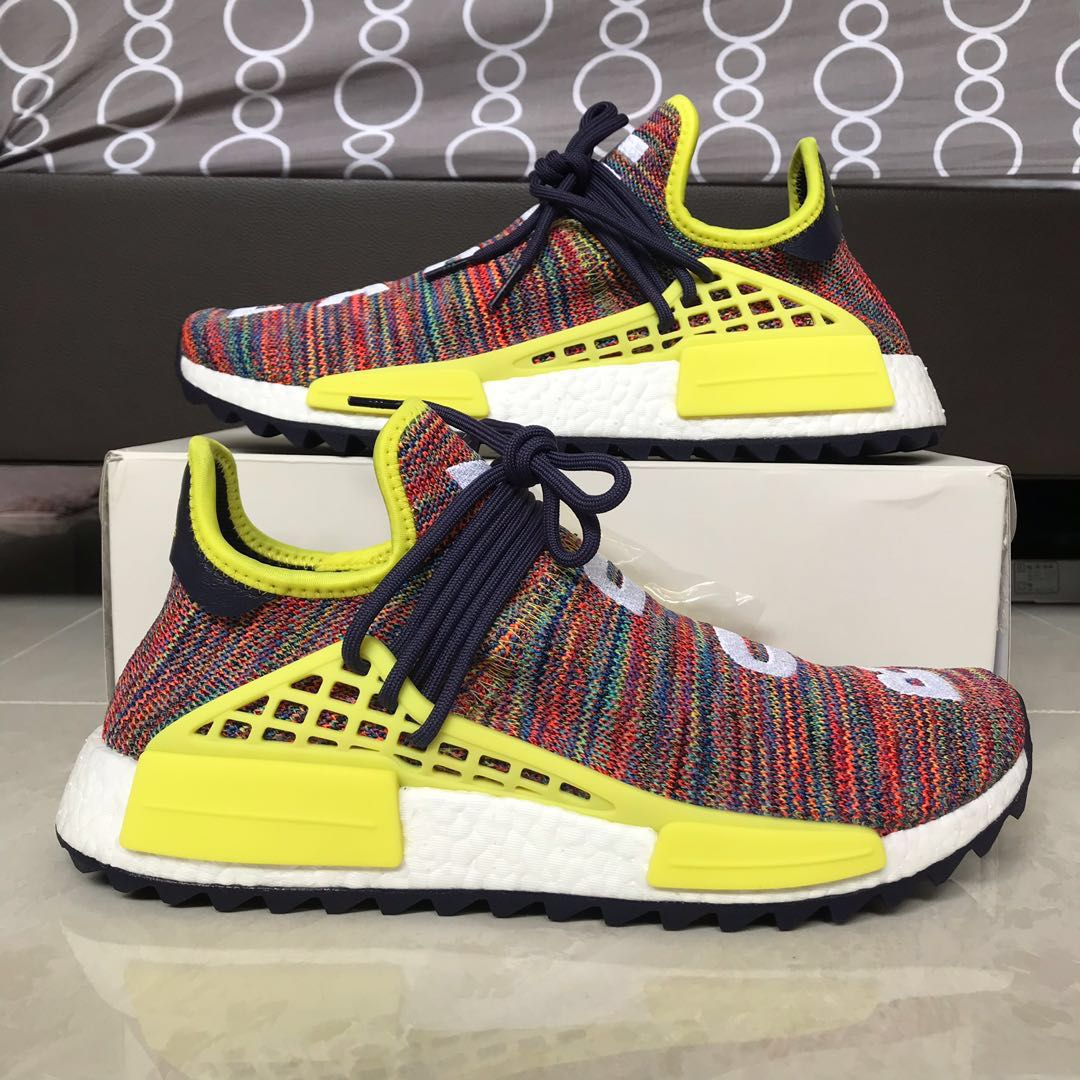 9f233d49e Adidas x Pharrell NMD Trail Human Race (Multicolor)
