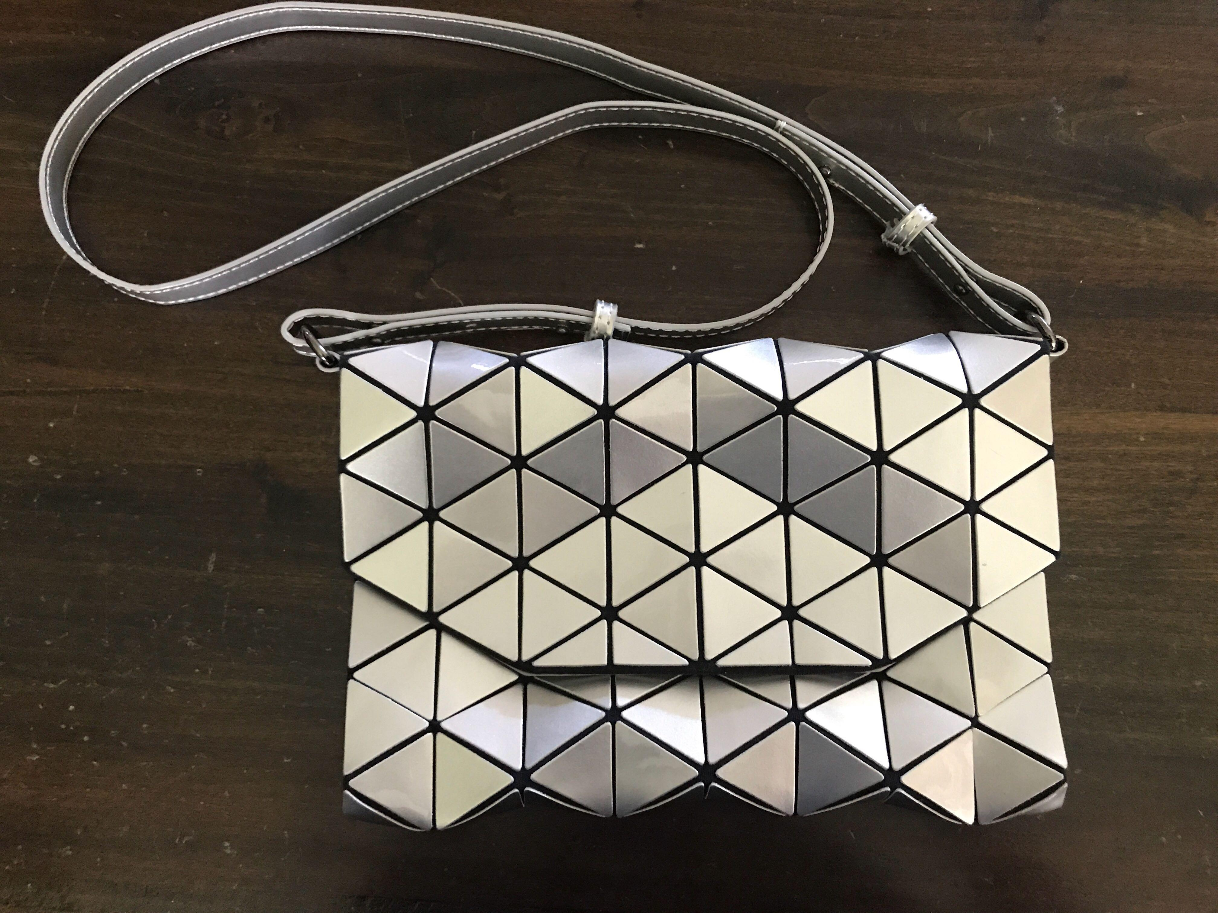 Almost new Issey Miyake Bao Bao inspired bag clutch