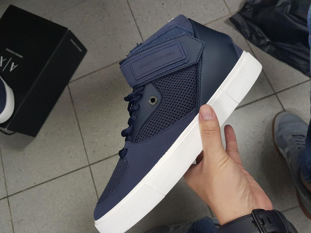 Armani Exchange SneakerS Lace Up Nylon uJTF3lcK1