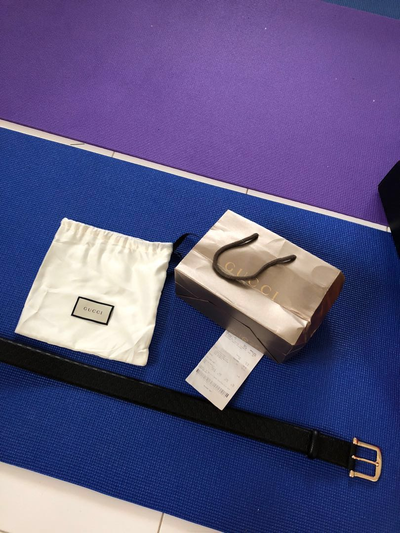 9715568dd Authentic Gucci Ladies Belt with purchase receipt , Luxury ...