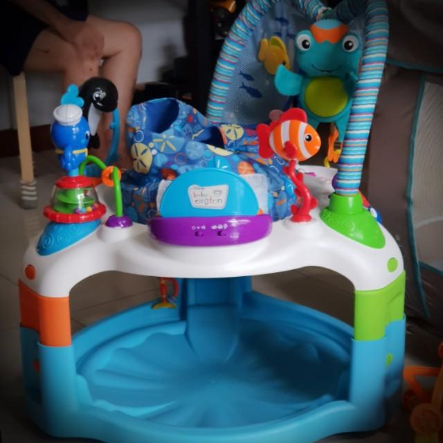 Baby Gear Baby Einstein Rhythm Of The Reef Activity Saucer Activity Centers