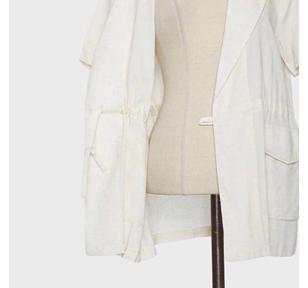Beige Jacket (mixxo from korea) #MY1212
