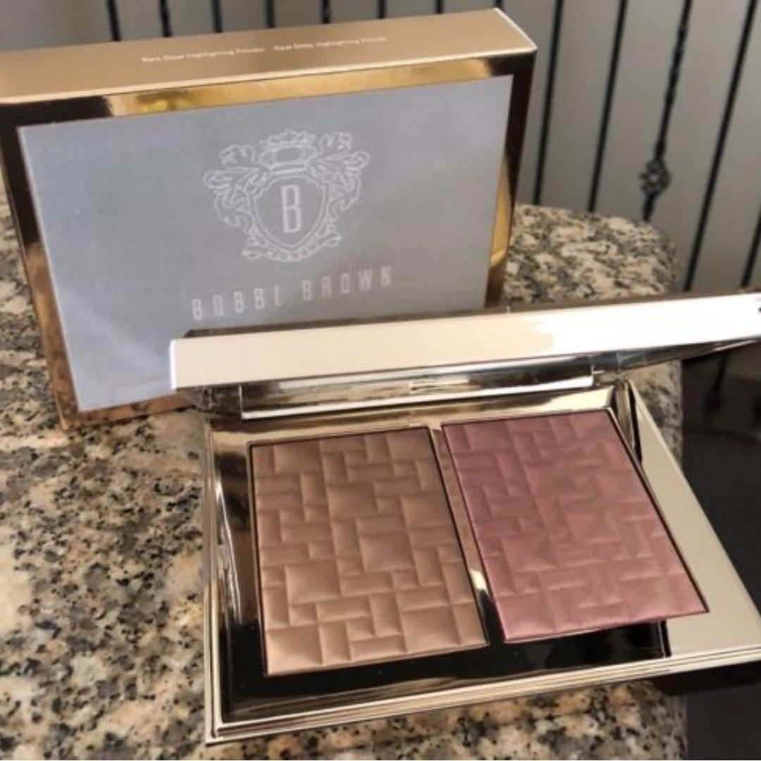 Bobbi Brown Highlight & Glow Highlighting Powder Duo BRAND NEW & AUTHENTIC [PRICE IS FIRM, NO SWAPS]