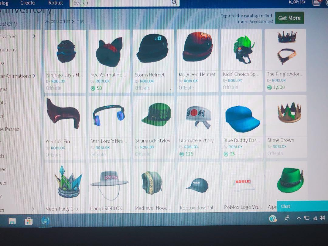 BOYS] [RICH ACCOUNT] ROBLOX ACCOUNT FOR SALE, Toys & Games